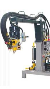 maquina para poliuretano